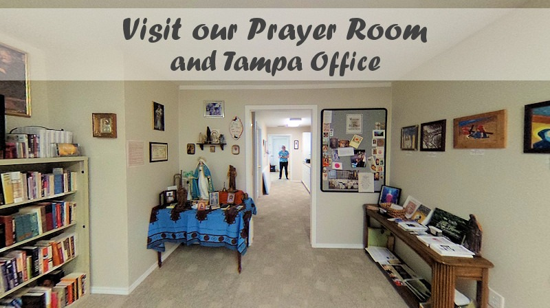 GNM prayer room and Tampa office